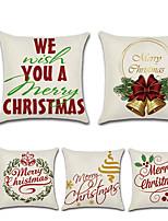 Недорогие -рождественские колокола английские слова автомобильные объятия наволочка декоративная наволочка нордический стиль белье домашнее украшение