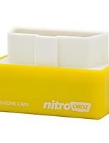 Недорогие -NITRO OBD2 для бензиновых автомобилей производительность чип-тюнинг коробка автомобиль экономия топлива больше мощность больше крутящий момент