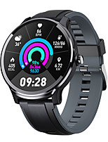 cheap -Smartwatch Digital Modern Style Sporty Silicone 30 m Water Resistant / Waterproof Heart Rate Monitor Bluetooth Digital Casual Outdoor - Purple Orange Green