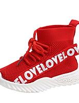 Недорогие -Девочки Удобная обувь Полиуретан Спортивная обувь Маленькие дети (4-7 лет) Беговая обувь Белый / Черный / Красный Осень