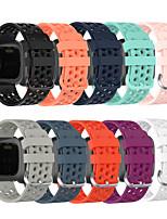 cheap -Watch Band for Fitbit Versa / Fitbit Versa Lite / Fitbit  Versa 2 Fitbit Classic Buckle Silicone Wrist Strap
