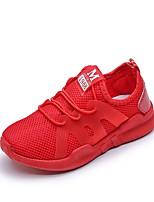 Недорогие -Девочки Удобная обувь Полиуретан Спортивная обувь Маленькие дети (4-7 лет) Беговая обувь Белый / Черный / Красный Лето