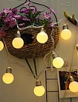 Недорогие -Лампа в форме большой лампы строка 4м 20led лампа Хэллоуин украшения фестиваль украшения аа аккумулятор 1 шт.