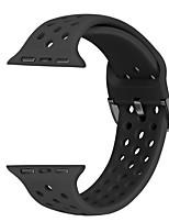 abordables -bracelet de montre pour Apple Watch Series 5/4/3/2/1 Apple Sport Band Bracelet en silicone