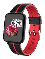 Недорогие -B57A мужчины женщины умный браслет smartwatch android ios bluetooth водонепроницаемый сенсорный экран монитор сердечного ритма измерение артериального давления спорт шагомер вызов напоминание