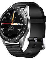 Недорогие -Смарт Часы Цифровой Современный Спортивные Кожа 30 m Защита от влаги Пульсомер Bluetooth Цифровой На каждый день На открытом воздухе - Черный Оранжевый Зеленый