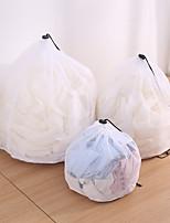 voordelige -2 stks wassen waszak kleding zorg opvouwbare bescherming netto filter ondergoed beha sokken ondergoed wasmachine kleding