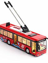 Недорогие -Игрушечные машинки Автобус Автобус Мерцание пение говорящий Alumnium сплава Детские Дети Все Мальчики и девочки Игрушки Подарок
