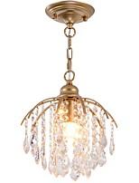 Недорогие -Подвесные лампы Рассеянное освещение Окрашенные отделки Металл 110-120Вольт / 220-240Вольт