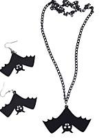 Недорогие -ведьма Винтажное ожерелье Браслет Ретро Хэллоуин Пластик ABS Сплав Ожерелья Маскарад Назначение Маскарад Вечеринка / коктейль Хэллоуин Карнавал Жен. Бижутерия / Серьги