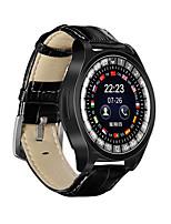 Недорогие -Смарт Часы Цифровой Современный Спортивные Натуральная кожа 30 m Защита от влаги Пульсомер Bluetooth Цифровой На каждый день На открытом воздухе - Черный Золотой Серебряный