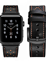 cheap -Watch Band for Apple Watch Series 6 SE 5 4 3 2 1 Apple Leather Loop Genuine Leather Wrist Strap