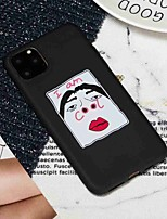 cheap -Case For Apple iPhone 11 / iPhone 11 Pro / iPhone 11 Pro Max Frosted / Pattern Back Cover Word / Phrase TPU