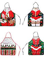 Недорогие -рождественские кухонные фартуки для женщин рождественские украшения фартуки для взрослых кухня