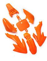 Недорогие -комплект обтекателя крыла оранжевый для Honda CRF XR 50 CRF50 125 SSR SDG 107 пит-байк