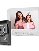 Недорогие -xinsilu xsl-v70m домашняя декорация проводная камера 7 дюймов громкая связь 800480 пикселей один на один видеодомофон