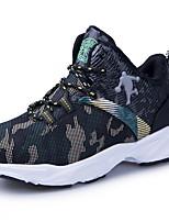 Недорогие -Мальчики Удобная обувь Полотно Спортивная обувь Маленькие дети (4-7 лет) Для баскетбола Черный / Красный / Зеленый Лето