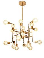 Недорогие -16 светильников роскошные золотые люстры в стиле свечей европейские современные светильники для гостиной столовой магазины кафе светодиодные лампы g9 не включены