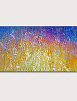 Недорогие -Hang-роспись маслом Ручная роспись - Абстракция Абстрактные пейзажи Modern Включите внутренний каркас