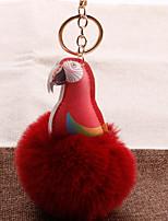 Недорогие -Брелок Parrot корейский Милая Мода Модные кольца Бижутерия Черный / Коричневый / Винный Назначение Подарок Повседневные