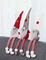 Недорогие -санта клаус рождественские украшения безликие куклы гном плюшевые домашняя вечеринка украшения новогодний подарок