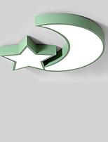 Недорогие -светодиодный ультратонкий потолочный светильник современный светлый номер для детей спальня свет творческая личность мультфильм звезда луна макарон потолочный светильник