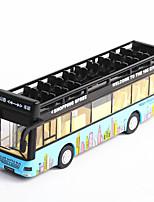 Недорогие -Игрушечные машинки Автобус Автобус Специально разработанный Мерцание Взаимодействие родителей и детей Alumnium сплава Детские элементарный Все Мальчики и девочки Игрушки Подарок
