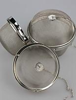 Недорогие -Металл Чайный 1шт Фильтры