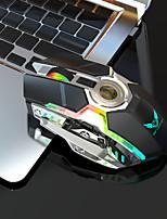 Недорогие -KUPENG T30 Беспроводное Bluetooth-соединение / Беспроводная 2.4G Оптический Gaming Mouse / Эргономичная мышь RGB свет 800/1600/2400 dpi 3 Регулируемые уровни DPI 7 pcs Ключи