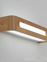 Недорогие -Новый дизайн Современный современный / Северный стиль Настенные светильники Кабинет / Офис / В помещении Дерево / бамбук настенный светильник IP44 220-240Вольт 8 W