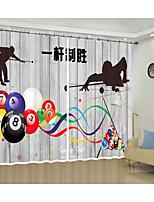 Недорогие -креативная 3D шторка для штор с высокой точностью из черного шелкового материала и высококачественной шторкой для штор