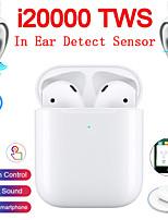 Недорогие -Оригинал i20000 Tws True Wireless Наушники-вкладыши обнаружения касания управления беспроводной Ци зарядки Автоматическое обнаружение ушей играть и пауза всплывающее окно Bluetooth 5.0 Super Bass