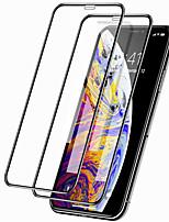 Недорогие -2 шт. 9d защитная пленка для iphone 11/11 pro / 11 pro max защитная крышка из закаленного стекла iphone xs max / xr / xs / x