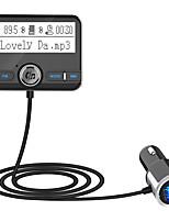 Недорогие -Bc31 Bluetooth FM-передатчик беспроводной автомобильный FM-модулятор автомобильный mp3-плеер автомобильный комплект громкой связи Bluetooth автомобильное зарядное устройство с ЖК-дисплеем