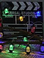 Недорогие -сделай сам ретро керосиновая лампа модель лампы строка 4 м 20led лампы хэллоуин украшения фестиваль украшения аа батареи питания 1 шт.