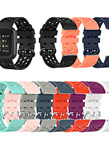 cheap -Watch Band for Fitbit Versa / Fitbi Versa Lite / Fitbit Versa 2 Fitbit Modern Buckle TPE Wrist Strap