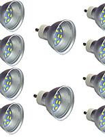 Недорогие -10 шт. 2 W Точечное LED освещение 340 lm GU10 12 Светодиодные бусины SMD 5730 Тёплый белый Белый 9-30 V