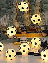 Недорогие -сделай сам футбол модель лампы строка 4 м 20led хэллоуин украшения фестиваль украшения украшения питания 1 шт.