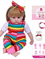 cheap -Reborn Doll Baby Girl 22 inch Kids / Teen Kid's Unisex Toy Gift