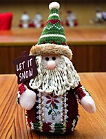 Недорогие -мини рождественская кукла представляет рождественские украшения дед мороз