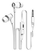 Недорогие -Langsdom JM21 Наушники-вкладыши Проводное Мобильный телефон С подавлением шума
