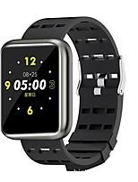 Недорогие -Смарт Часы Цифровой Современный Спортивные силиконовый 30 m Защита от влаги Пульсомер Bluetooth Цифровой На каждый день На открытом воздухе - Черный Золотой Синий