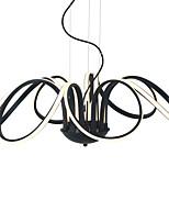 Недорогие -UMEI™ Свеча-стиль Люстры и лампы Рассеянное освещение Окрашенные отделки Алюминий силикагель 110-120Вольт / 220-240Вольт Теплый белый / Белый / Диммируемый с дистанционным управлением