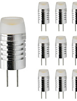Недорогие -10 шт. 3 W LED лампы в форме свечи LED лампы типа Корн Двухштырьковые LED лампы 300 lm G4 T 1 Светодиодные бусины Высокомощный LED Диммируемая Тёплый белый Белый 12 V