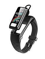 Недорогие -h207 умный браслет Bluetooth фитнес-трекер и поддержка беспроводных наушников уведомить / ЭКГ + ppg / измерение артериального давления водонепроницаемый смарт-часы для телефонов Samsung / Iphone / And