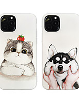 cheap -Case For Apple iPhone 11 Shockproof / Dustproof / Frosted Back Cover Animal TPU For Case iphone 11 Pro/11 Pro Max/7/8/7P/8P/SE 2020/X/Xs/Xs MAX/XR