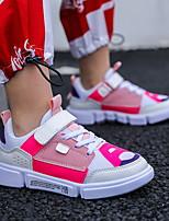 Недорогие -Мальчики Удобная обувь Сетка Спортивная обувь Маленькие дети (4-7 лет) Беговая обувь Белый / Синий / Розовый Осень