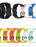 cheap -Watch Band for SUUNTO 9 / SUUNTO 9 Baro / SUUNTO D5 / SUUNTO Spartan Sport Suunto Sport Band / Classic Buckle Silicone Wrist Strap 24MM