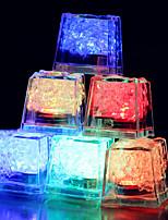 Недорогие -Изменение цвета кубики льда привели свет партия свадьба рождественский бар ресторан