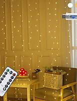 Недорогие -Гибкие светодиодные полосы 3x1 м 100 светодиодов 1 пульт дистанционного управления 13 клавиш теплый белый / RGB / белый креатив / USB / низкое давление / безопасность / занавес комнаты / декоративные